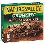 NATURE VALLEY Crunchy Granola Bar Oats and Dark Chocolate, 210g