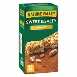 NATURE VALLEY Sweet and Salty Peanut Chewy Nut Bars, 32-Count
