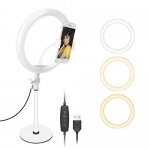 Neewer Table Top 10-inch USB LED Ring Light