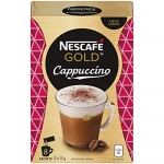 Nescafé Gold Cappuccino, Instant Coffee Sachets, 8 x 14 g (Pack Of 6, 48 Cups)