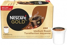 NESCAFÉ Gold Medium Roast, 12 Count