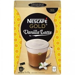 Nescafé Vanilla Latte, Instant Coffee Sachets, 8 x 18g (Pack Of 6, 48 Cups)