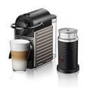 Nespresso Pixie Coffee Machine by Breville with Aeroccino
