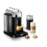 Nespresso Vertuo Coffee and Espresso Machine by Breville with Aeroccino Milk Frother