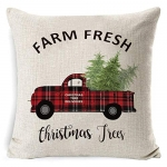 Nessere Christmas Series Printed Pillowcases