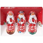 NESTLÉ Kitkat Holiday Milk Chocolate Santas (3 X 20 g)