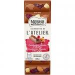NESTLÉ LES RECETTES DE L'Atelier Milk Chocolate Cranberry Nut, 100g