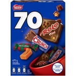 NESTLÉ Mini Halloween Assorted Chocolate & Candy – ROLO, Crunch, MACKINTOSH'S (70 ct)