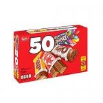 NESTLÉ MINIS Assorted bars – KITKAT, COFFEE CRISP, AERO, SMARTIES – (Pack of 50 mini bars)