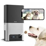 Petcube Bites 2 Wi-Fi Pet Camera with Treat Dispenser & Alexa Built-in