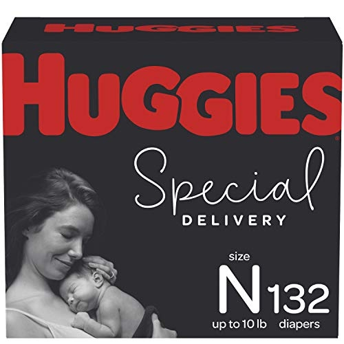 Huggies Special Delivery Hypoallergenic Diapers, Size N – 6