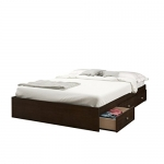 Nexera Pocono 3-Drawer Storage Bed