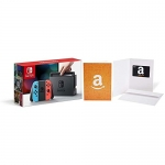 Nintendo Switch Console – Neon Edition with Amazon $30 Gift Card