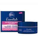 NIVEA Essentials 24H Moisture Boost + Nourish Night Cream for Dry Skin (50 mL)
