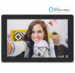 Nixplay Seed 10.1 Inch Widescreen WiFi Digital Photo Frame with Alexa Integration