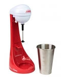 Nostalgia Two-Speed Electric Coca-Cola Limited Edition Milkshake Maker and Drink Mixer