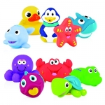 Nuby 10-Piece Bath Squirters