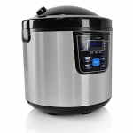 NutriChef 10-In-1 Multi Cooker Rice Soup Bean-24Hr Dealy Timer, 6 quarts