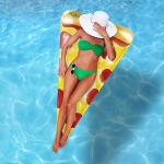 Inflatable Giant Pizza Slice Float