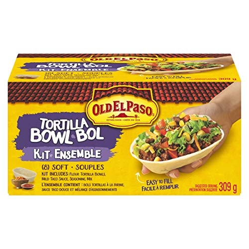 Old El Paso Tortilla Bowl Kit, 8 count