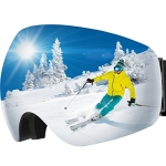 OMorc Ski Goggles, Anti-Fog&100% UV400 Protection