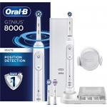 Oral-B 8000 Electronic Toothbrush, White