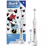 Oral B Kids Electric Toothbrush Featuring Disney's Minnie Mouse