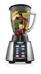 Oster 6-Cup Glass Jar 7-Speed Blender, Brushed Stainless/Black