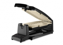 Oster 7-Minute Grill with DuraCeramic Coating, Black