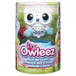 Owleez Flying Baby Interactive Toy, White