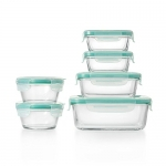 OXO Good Grips Smart Seal Glass Container 12 Piece Set