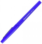 Paper Mate Flair Felt Tip Pens, Medium Point, Blue, Box of 12