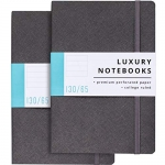 Papercode Journal Notebook – Luxury Notebooks – 2 Pack in Gray