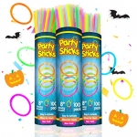 Party Sticks Glow Sticks Party Favors 300pk and Connectors – 8″