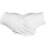 Paxcoo 6 Pairs White Cotton Gloves, M