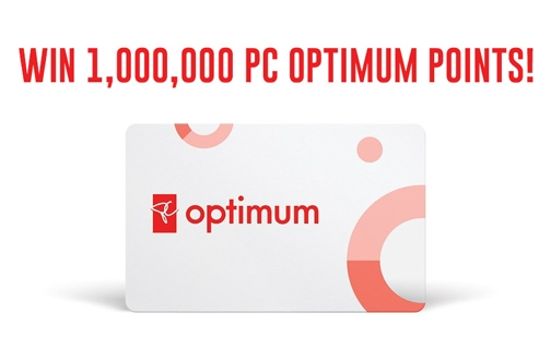 Shoppers Drug Mart Contest | Win 1 Million PC Optimum Points