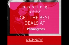 Penningtons Boxing Week Sale