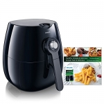 Philips Analog Viva Airfryer with Rapid Air technology and Recipe Book