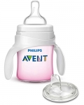 Philips Avent My First Transition Cup 4 oz, Pink