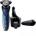 Philips Wet & Dry Electric Cordless Electric Shaver Series 8000 with Smartclean System and Precision Trimmer head
