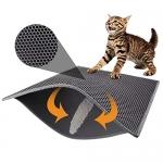 Pieviev Cat Litter Mat Trapper – 76 x 61 cm