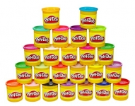 Play-Doh 24-Pack of Colors, Frustration-Free Packaging