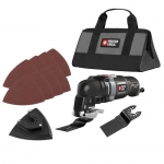 PORTER-CABLE 3-Amp Oscillating Multi-Tool Kit with 11 Accessories