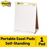 Post-it Super Sticky Tabletop Easel Pad, 20″ x 23″, 20 Sheets/Pad