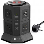 Power Strip Tower Gaming Surge Protector