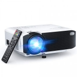 APEMAN Mini Portable 4000 Lumen Video Projector LED with Dual Built-in Speakers