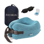 PROMUN Super Soft Head and Neck Support Travel Pillow