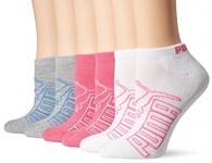 Puma Women's Low Cut Athletic Socks 6-Pack