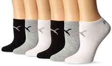 Puma Women's Non Terry No Show Low Cut Athletic Sport Sock