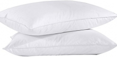Puredown Feather Down Bed Pillow Set of 2